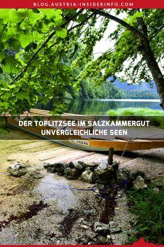 Der Toplitzsee im steirischen Salzkammergut liegt zwischen Kammersee und Grundlsee. Es ist ein wunderschön gelegener, aber auch sehr interessanter und sagenumwobener See. Stichwort: Nazi-Gold bzw. Nazi-Schatz im Toplitzsee. Austria, Country Roads, Mountains, Nature, Gold, Travel, Outdoor, Europe, Haunted Forest