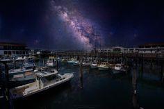 Milky way port by Tawatwong Tunchavanich
