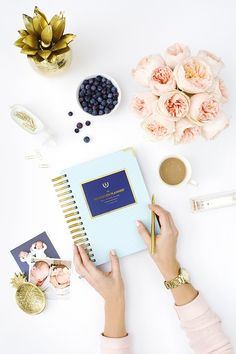 Product Photography and Styling by Shay Cochrane for Emily Ley Simplified Planner Simplified Planner, Flat Lay Photography, Product Photography, Photography Flowers, Lifestyle Photography, Blogging, Prop Styling, Girly, Belle Photo