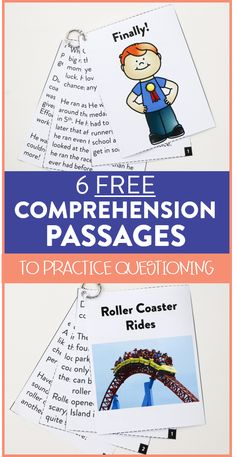 Are your students practicing asking questions while reading? You can grab an anchor chart, six free comprehension passages, and a recording sheet to use in your classroom right away! These questioning activities are the perfect way to practice this important reading skill. Head on over to the blog post to read more.
