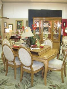 Estelle Formal Dining Room Set China Cabinet Furniture Cabinets Cabi