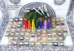 Witch Supplies Set 55 Magical Herbs 8 by PaganMagicalCrafts, £41.99