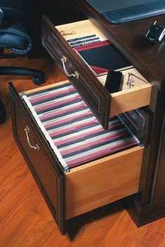 This desk file drawer is an ideal solution for organizing documents, receipts, bills, and other papers.