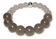 Gratitude Bead Bracelet by The Live Gr8ful Company. Dream Edition- Agate Natural Gemstones. Perfect for Positive Intentions Thinking Energy Success Prosperity Attraction and Healing. Premium Quality Women's Jewelry. ** You can find out more details at the link of the image. (This is an affiliate link and I receive a commission for the sales)