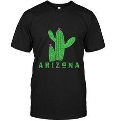 Arizona t shirt Arizona cactus shirt Cool T Shirts, Funny Shirts, Arizona Cactus, Cactus Shirt, Hoodies, Sleeves, Mens Tops, Prints, Cotton