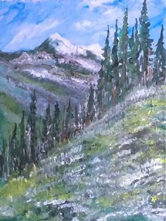 Portfolio Gallery for Al Budarin Impressionist Paintings, Rocky Mountains, Waterfalls, The Great Outdoors, Landscapes, Places To Visit, Display, Gallery, Artist