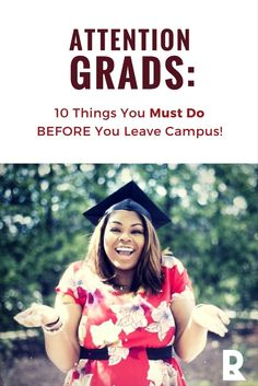 Before you cross that stage and get your diploma, you need to do these 10 things to start your career off right. Doing them before you graduate will set you up for success and better prospects. Don't wait! | @redletterresume | #jobsearch #newgrads #career #adulting #personalbrand #success #classof #grads #college #20something #millennials #GenY