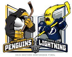 2016 East Conf Finals #penguins v @TBLightning . #Lightning #PITvsTBL #Penguins #nhlplayoffs @NHLonNBCSports @NHL #StanleyCup #EPoole88