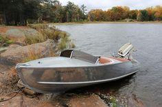 New Old 1958 Feathercraft Vagabond Boat 1958 Johnson Super Seahorse