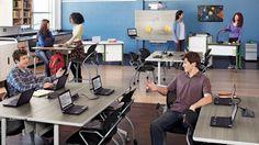"EXPLORE™ Flip and Nest Collaborative Table by Bretford EDU 2.0 Tables; EDUF2460 24"" x 60"""