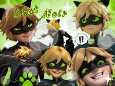Chat Noir Collage