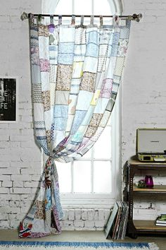 Magical Thinking Patchwork Curtain #urbanoutfitters