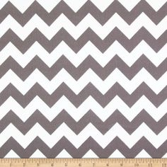 Riley Blake Flannel Basics Chevron Medium Grey from @fabricdotcom  Designed for Riley Blake Designs, this single napped (brushed on face side only) flannel is perfect for quilting, craft projects, apparel and home décor accents. Colors include grey and white.