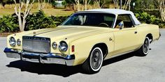 1977 Chrysler Cordoba Convertible, only 7 Hand Built with 5 believed left to exist as of 2014. Coach builder unknown.