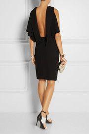 Open-back cady dress