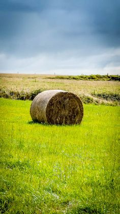 Bale of Hay, Ireland Agriculture, Farming, Images Of Ireland, Hay Bales, Phone, Telephone, Mobile Phones