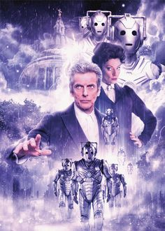 DOCTOR WHO - Peter Capaldi 12th Doctor 'Cybermen' A3 poster in Collectables, Science Fiction, Doctor Who | eBay