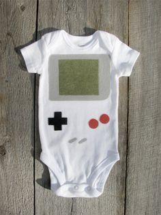 Nintendo Gameboy Baby Costume
