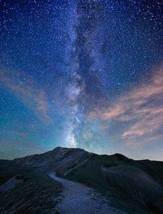 Trail to the Milky Way  by mengzhonghua
