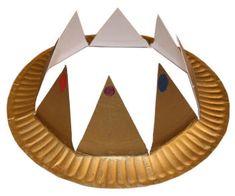 día de Magos Reyes artesanía para niños | manualidades de festivos de dltk para ninos corona de rey mago