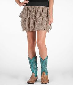Western outfit, skirts with boots