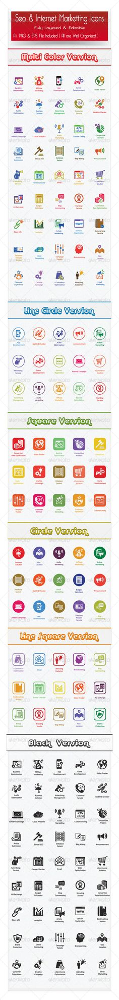 Icon - GraphicRiver Flat SEO Icons and Internet Marketing Icons 6582248 » Dondrup.com