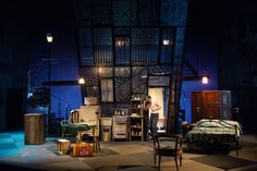A Streetcar Named Desire. Oregon Shakespeare Festival.Scenic design by Christopher Acebo.