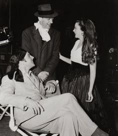 Fred Astaire, Gene Kelly, and Judy Garland