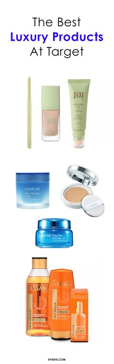 The best luxury beauty products available at Target