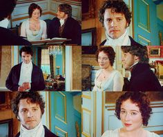 Darcy: I… I do not have that talent, which some possess, of conversing easily with strangers. Lizzy: I do not play this instrument so well as I should wish to. But I have always supposed that to be my own fault, because I would not take the trouble of practicing.