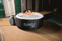 Very affordable inflatable spa recommended for couples! This will make Valentine's day extra special.  #spa #hottub #valentines