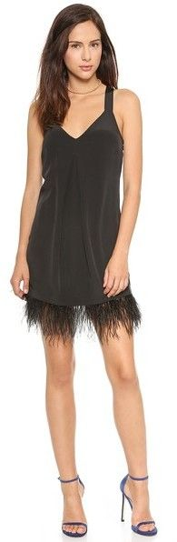 Madison Marcus Integrity Feather Dress