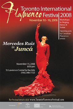 Mercedes Ruiz, 2008 Toronto International Flamenco Festival