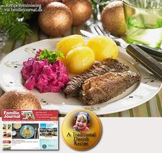 Danish Fried Herring with Beet Salad (recipe in English)