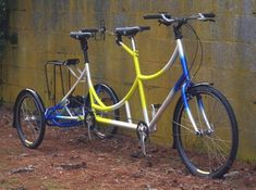 Custom Rodriguez Tandem Trike\ Rodriguez out of Seattle. Great place to find/build your tandem.