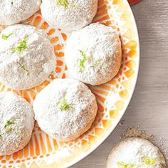 Lemon-Lime Mexican Wedding Cookies, an interesting take on one of my very favorite cookies!!