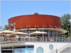 Silo restaurant in La Park,Holon