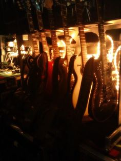 March 9, 2014: there are many guitars #RockMeetsClassic
