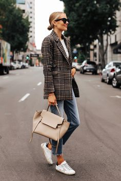 How will we dress this in Autumn Street Style Fashion Trends What will be the coolest moods of the new season, Autumn Fashion, Winter outfits, Fall Fashion Outfits Blazer Outfits Casual, Blazer Fashion, Fashion Outfits, Fashion Trends, Fashion Clothes, Style Fashion, Classy Fashion, Fashion Top, Cheap Fashion