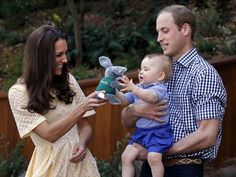 """LONDON — 8/9/14 The Duke and Duchess of Cambridge are expecting their second child, Britain's royal family said Monday in a brief statement.  No delivery date was given for the new baby — brother or sister to Prince George, who was born in July 2013.  Clarence House, the office for Prince William and Duchess Catherine, said the queen and members of both families were """"delighted with the news."""""""