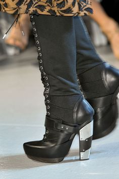 Killer Winter Boots. Rodarte fall 2012