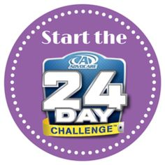 Start the 24 Day Challenge to reset your body, break a plateau, and lose weight. shop.24days2skinny.com