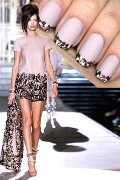 DSquared Fall 14 #nail #nails #nailart