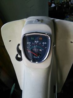 HONDA SUPER CUB custom meter.