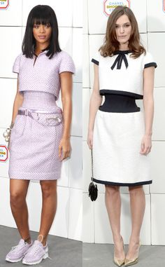 CHANEL SS14: no-waist dress as seen on Rihanna and Kiera Knightley