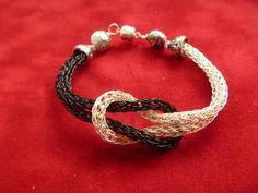 Viking Knit Love Knot Bracelet