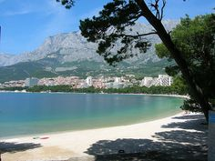 Makarska, Croatia: one of the best places in Croatia for young people, because of beach-bars and parties ;) #seaside #Croatia #party