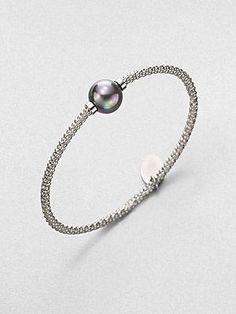 Majorica bangle bracelet