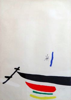 Joan Miró - Surrealism & Abstraction - Femmes dans la Nuit.