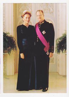 Royalty,Belgium,King Albert II and Queen Paola,c.1993